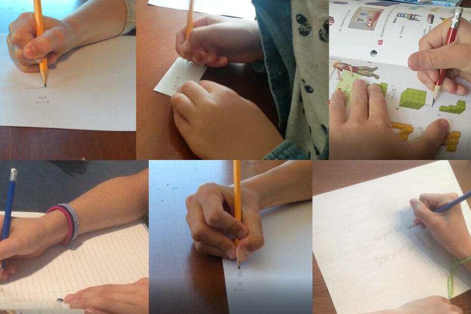 Doit-on corriger la prise du crayon?
