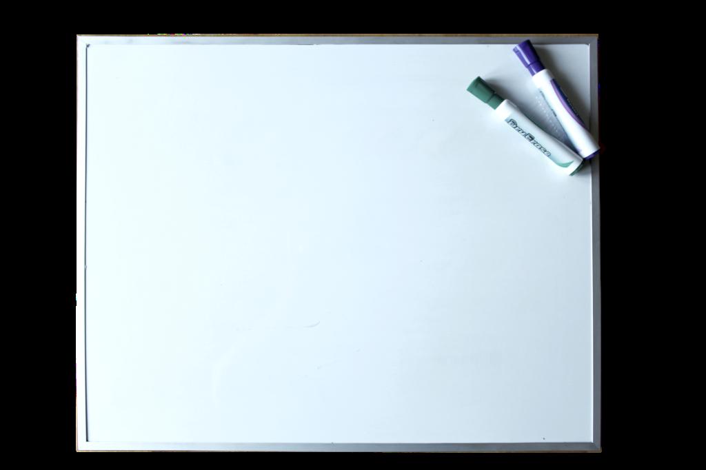 tableau effaçable à sec pour pratiquer l'écriture des lettres avec M. Gobelettre